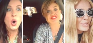 Lauren O'Brien Stuck in Traffic Celebrities