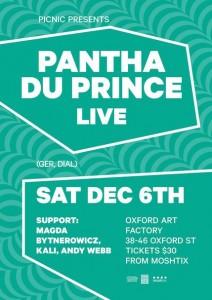 Sydney Art Factory Pantha Du Prince