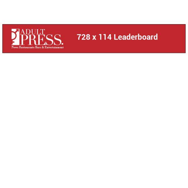 Leaderboard 728 x 114 Ad Specs