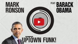 Obama Sings Bruno Mars