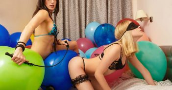 balloon play fetish adult press