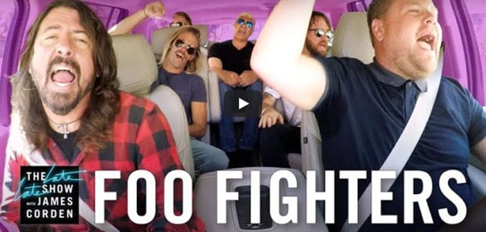 Watch: Foo Fighters Carpool Karaoke