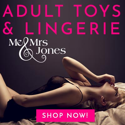 Me & Mrs Jones Online Sex Shop Offering Sex Toys and Lingerie