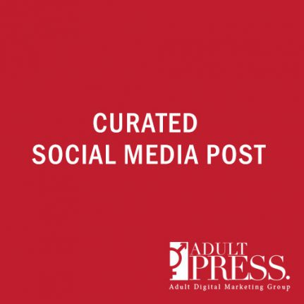 curated social media post